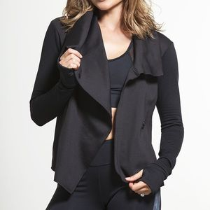Alala Sophisticated Draped Jacket - Small